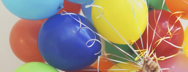 globos - electricidad estatica
